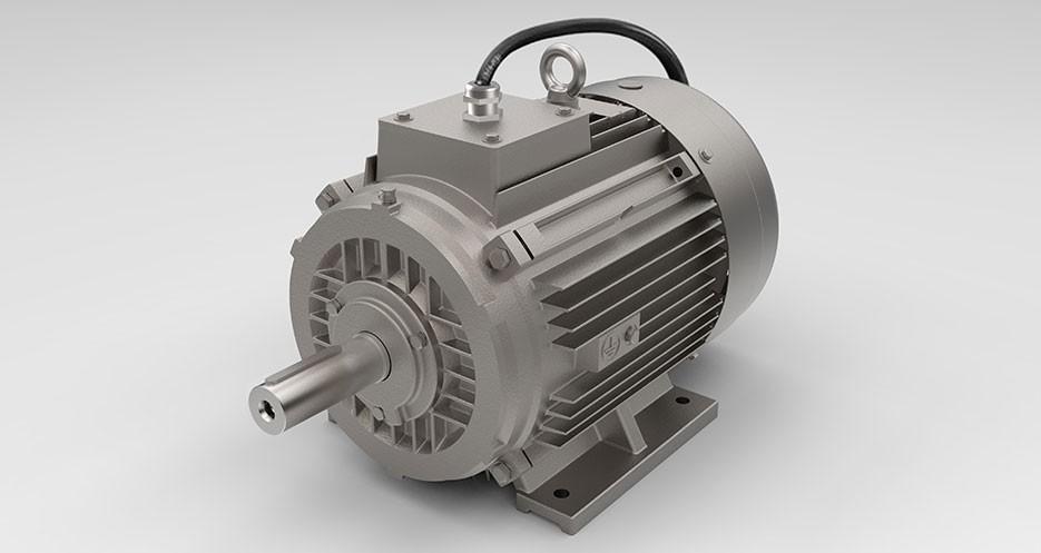 Brandgasmotoren