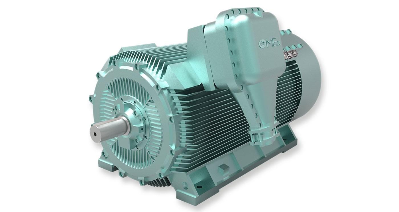 OMEX Hochspannungsmotoren
