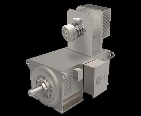 Gleichstrommotors OMDC