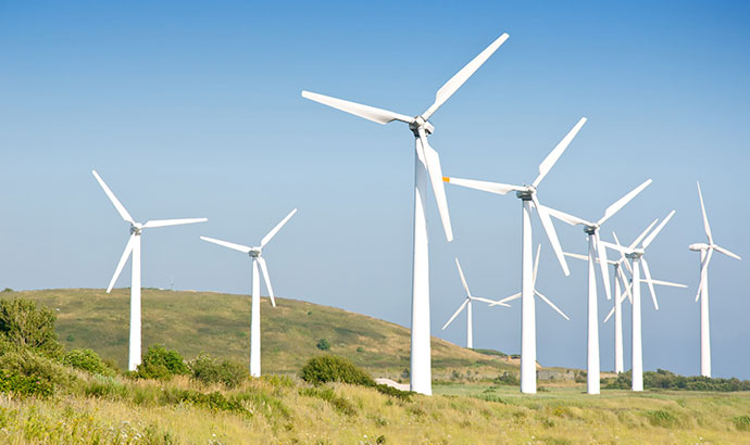 Windenergieerzeugung: Entdecken Sie die OME dedizierte Motorenpalette