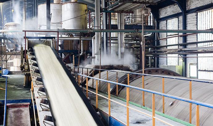 Effiziente Motoren für Zuckerfabriken